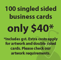 Business card $40 special